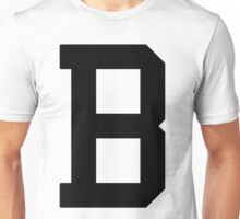Letterman B Unisex T-Shirt