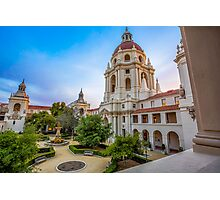 Pasadena City hall Photographic Print