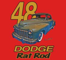 48 Dodge Business Coupe Rat Rod Baby Tee