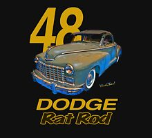 48 Dodge Business Coupe Rat Rod Unisex T-Shirt