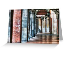 Pisa Archway Greeting Card