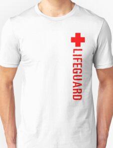 Lifeguard (Red Vertical Variant) Hoodie Unisex T-Shirt