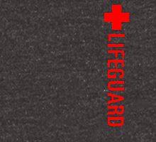 Lifeguard (Red Vertical Variant) Hoodie Zipped Hoodie