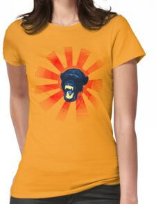 Munky Yell Womens Fitted T-Shirt