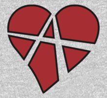 Anarchy Heart Kids Tee