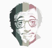 Woody Allen in stripes One Piece - Long Sleeve