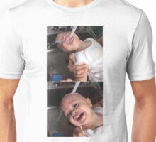 small child water  Unisex T-Shirt