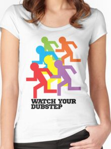 Watch Your Dubstep Women's Fitted Scoop T-Shirt