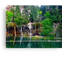 Hanging Lake, CO Canvas Print