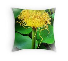Lotus Lost Throw Pillow