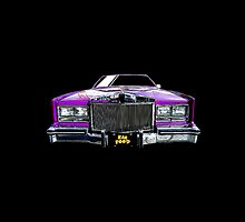 EarFood 'Purple Caddy' Logo by EarFood