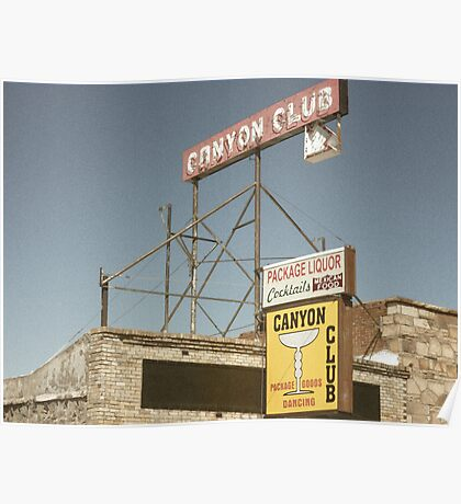 Grand Canyon Liquor  Poster