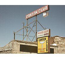 Grand Canyon Liquor  Photographic Print