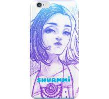 Black + White~ Under Purple iPhone Case/Skin