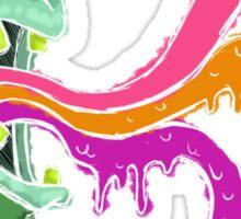 Color Barf Sticker