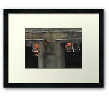 ©AS The Boss IAH Framed Print