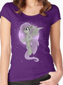 Flutterbat (My Little Pony: Friendship is Magic) Women's Fitted Scoop T-Shirt