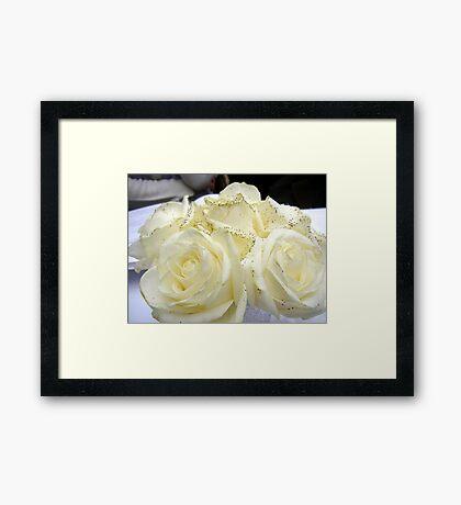 Smart Bouquet Framed Print
