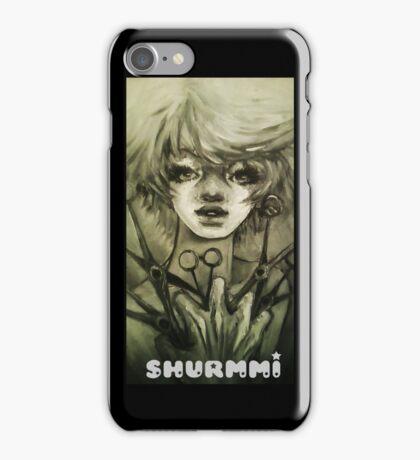 Bloody fist iPhone Case/Skin
