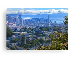 San Francisco Cloudy Afternoon Canvas Print