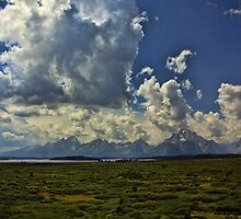 Tetons Under Sky by Brenton Cooper
