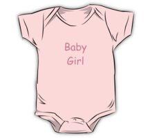 Baby Girl One Piece - Short Sleeve
