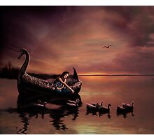 Maiden of the Lake Photographic Print