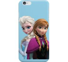 Anna and Elsa iPhone Case/Skin