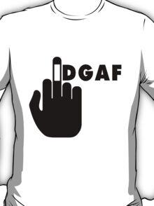 IDGAF 2 I dont Give a Fuck T-Shirt