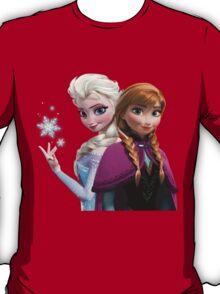 Anna and Elsa T-Shirt