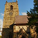 Llangollen Church by kalaryder