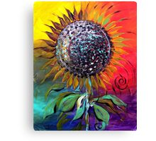 SUNFLOWER Abstract, Colorful, Whimsical, Vivid ART from J. Vincent !! NICE, MUST SEE Canvas Print