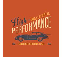 British sports car Photographic Print