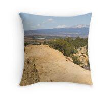 Mount Taylor Throw Pillow