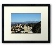 Sandstone River Framed Print