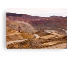Santa Rita Copper Mine Canvas Print