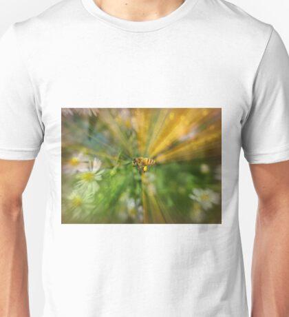 Bee in worderland Unisex T-Shirt