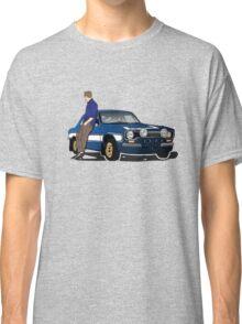 Paul Walker interpretation art - Fast Furious 7 Classic T-Shirt