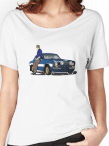 Paul Walker interpretation art - Fast Furious 7 Women's Relaxed Fit T-Shirt