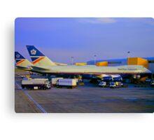 British Airways Boeing 747-200 Canvas Print
