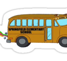 SPRINGFIELD MAGIC BUS Sticker