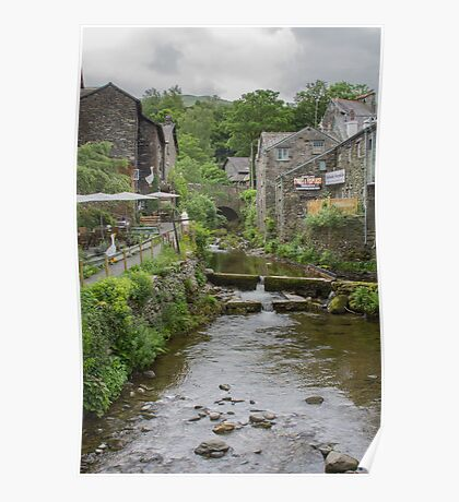 Stock Ghyll, Ambleside, U.K Poster