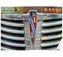 Buick 8 Grille Poster