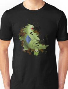 Tyranitar with Camo Splash  Unisex T-Shirt