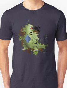 Tyranitar with Camo Splash  T-Shirt