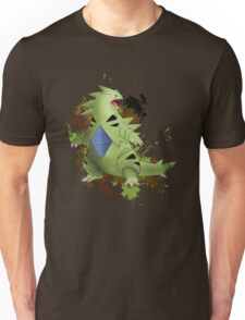Tyranitar with Camo Splash  Unisex T-Shirt