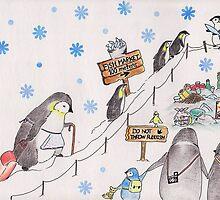 Snow Penguin by Marysue128