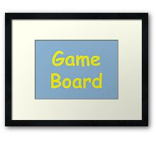 Game Board - The IT Crowd Framed Print