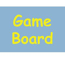 Game Board - The IT Crowd Photographic Print
