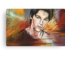 Dylan Sprayberry, featured in Artists Universe Canvas Print